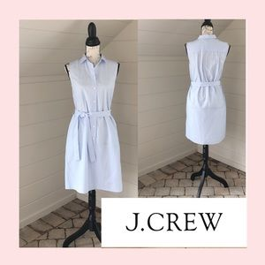 🆕 J. Crew Sleeveless Shirtdress